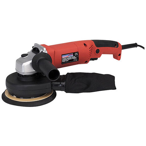 Sealey DAS151 Random Orbital Sander Variable Speed Dust-Free Diameter 150mm 750W/230V - Sanders