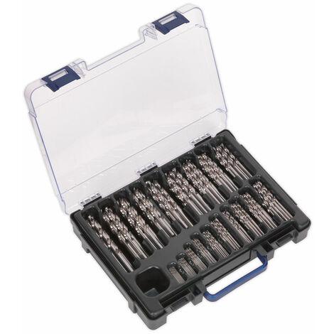 Sealey DBS170FG HSS Drill Bit Set 1-10mm 170pc