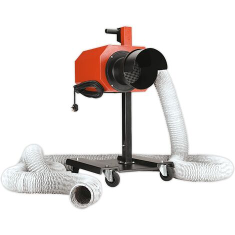 Sealey EFS/93 Exhaust Fume Extractor with 6m Ducting