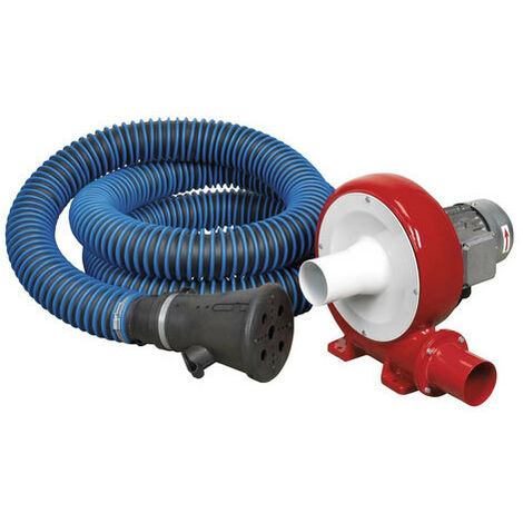 Sealey EFS101 370W Exhaust Fume Extraction System Single Duct