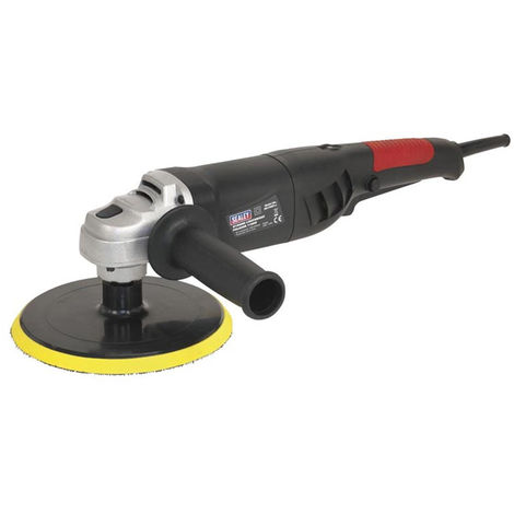 Sealey ER1700P 230V Variable Speed Polisher Buffer Lightweight 180mm 1100W