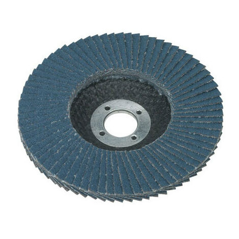 Sealey FD10080 Diameter 100mm Flap Disc Zirconium 16mm Bore 80Grit