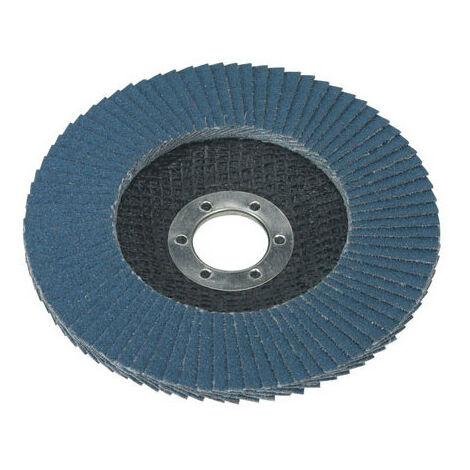 Sealey FD12560 Diameter 125mm Flap Disc Zirconium 22mm Bore 60Grit