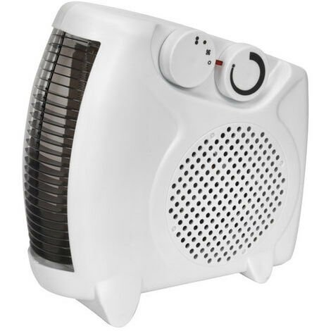 Sealey FH2010 2000W Fan Heater with 2 Heat Settings & Thermostat