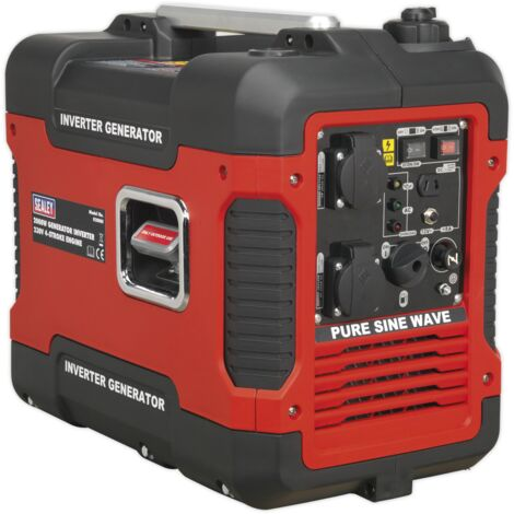 Sealey G2000I 4-Stroke Inverter Generator 2000W 230V