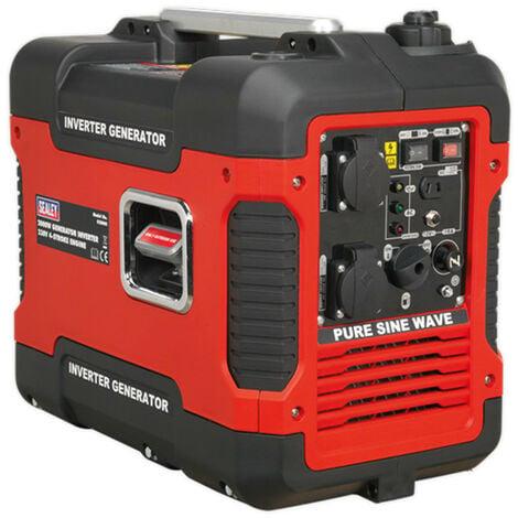 Sealey G2000I Inverter Generator 2000W 230V 4-Stroke Engine