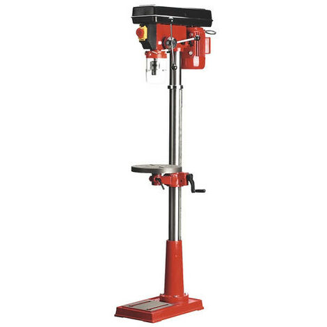 Sealey GDM140F 12-Speed Floor Pillar Drill 1530mm Ht 370W