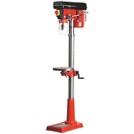 Sealey GDM140F Pillar Drill Floor 12-Speed 1500mm Height 370W/230V