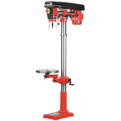 Sealey GDM1630FR Radial Pillar Drill Floor 5-Speed 1620mm Height 550W/230V