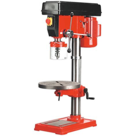Sealey GDM180B Pillar Drill Bench 16-Speed 1085mm Height 750W/230V