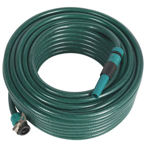 Sealey GH30R 30mtr Water Hose with Fittings