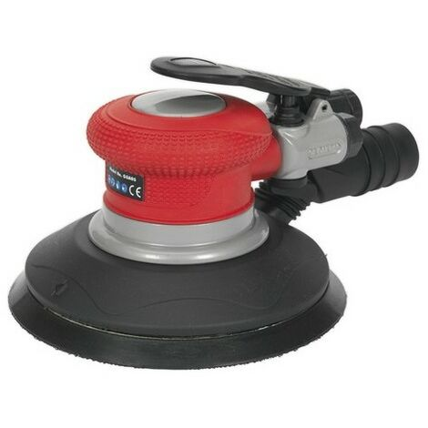 Sealey GSA05 Air Palm Random Orbital Sander 150mm Dust-Free