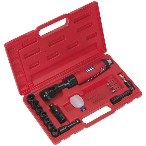 Sealey Gsa20Kit Air Ratchet Wrench Kit 3/8Sq Drive