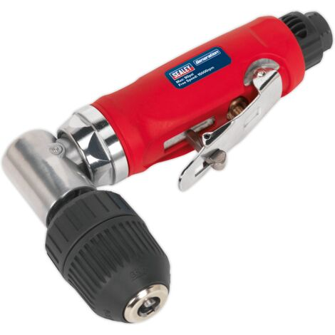 Sealey GSA231 Air Angle Drill with ??10mm Keyless Chuck
