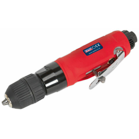 Sealey GSA232 Air Drill Straight with Ø10mm Keyless Chuck
