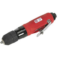 Sealey GSA232 Diameter 10mm Straight Air Drill with Keyless Chuck