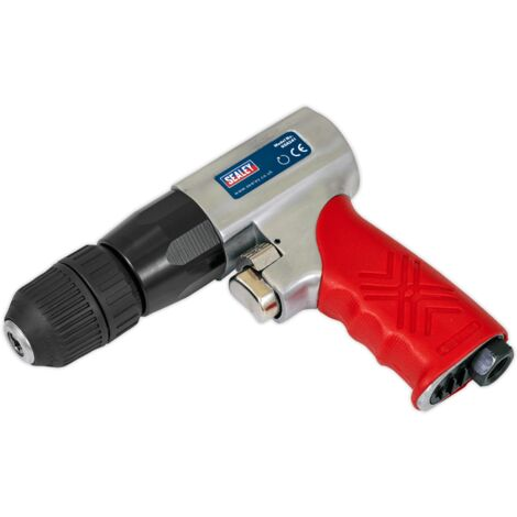 Sealey GSA241 Air Drill ??10mm Reversible with Keyless Chuck