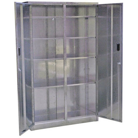 Sealey GSC110385 5 Shelf Extra-Wide Galvanized Steel Floor Cabinet