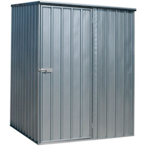 Sealey GSS1515 Galvanized Steel Shed 1.5 x 1.5 x 2m