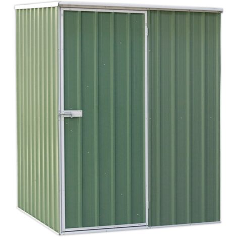 Sealey GSS1515G Galvanized Steel Shed Green 1.51 x 1.51 x 2m