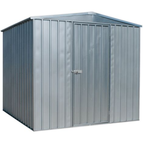 Sealey GSS2323 Galvanized Steel Shed 2.3 x 2.3 x 2.2m