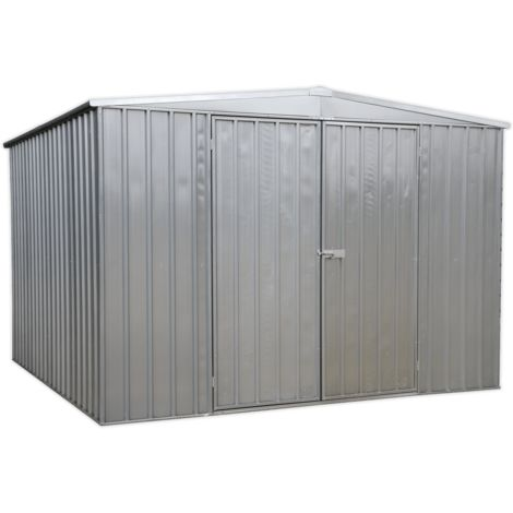 Sealey GSS3030 Galvanized Steel Shed 3 x 3 x 2m
