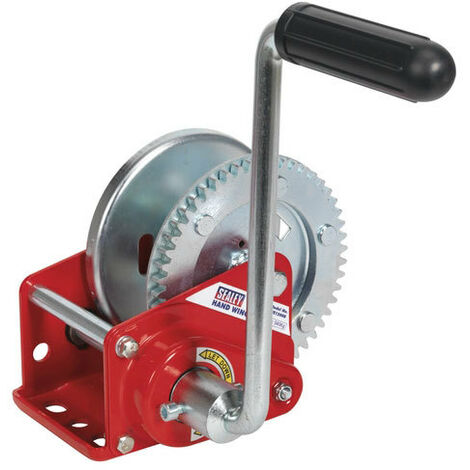 Sealey GWE1200B 540kg Capacity Geared Hand Winch with Brake