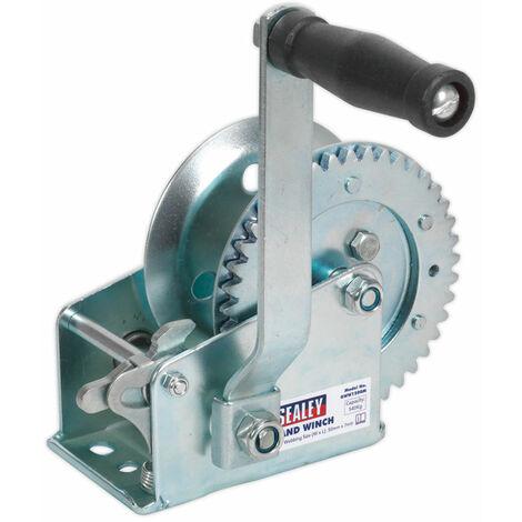Sealey GWE1200M Geared Hand Winch 540kg Capacity