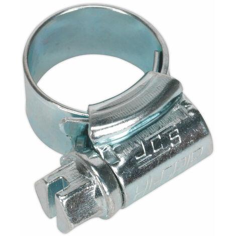 Sealey HCJ000 Hi-Grip Hose Clips Zinc Plated Ø9.5-12mm Pack Of 30