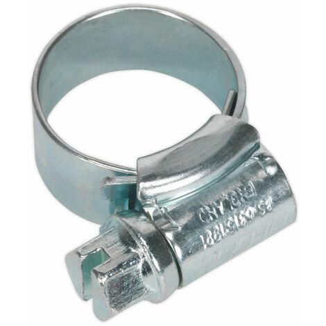 Sealey HCJM00 Hi-Grip Hose Clips Zinc Plated Ø11-16mm Pack Of 30