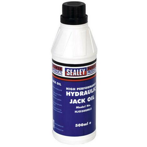 "main image of ""Sealey HJO500MLS 500ml Hydraulic Jack Oil"""