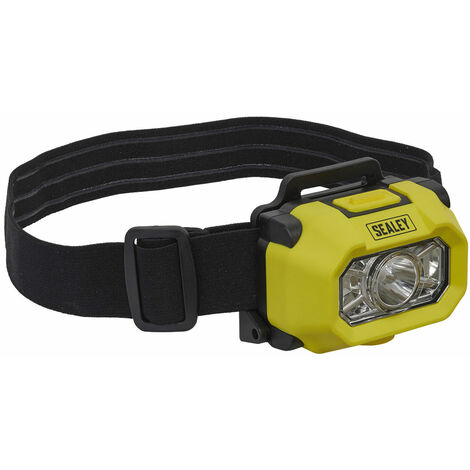 Sealey HT452IS Head Torch XP-G2 CREE LED Intrinsically Safe
