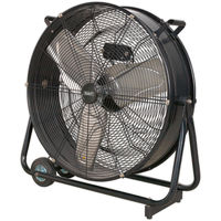 "Sealey HVD24 24"" Industrial High Velocity Drum Fan 240V"