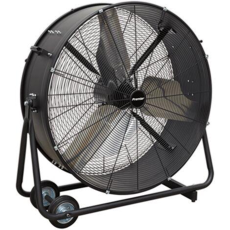 "Sealey HVD36P Industrial High Velocity Drum Fan 36"" 230V - Premier"