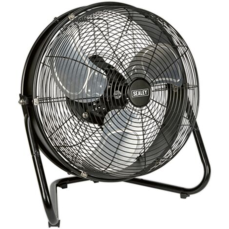 """Sealey HVF18IS Industrial High Velocity Floor Fan with Internal Oscillation 18"""""""