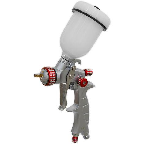 Sealey HVLP04 HVLP Gravity Feed Touch-Up Spray Gun 1mm Set-Up