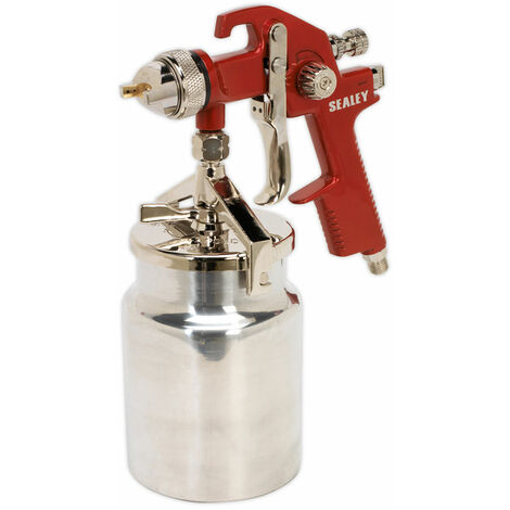 Sealey HVLP740 hvlp suction feed spray gun 1.7mm set-up