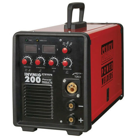 Sealey INVMIG200 200Amp Inverter MIG, TIG & MMA