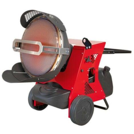 Sealey IR55 Infrared Paraffin/Kerosene/Diesel Heater 45.5kW 230V