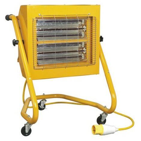 Sealey IRS153110V Infrared Heater 1.5/3kW 110V