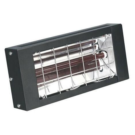 Sealey IWMH1500 1500W Infrared Quartz Heater - Wall Mounting 230V
