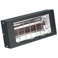 Sealey IWMH1500 1500W Infrared Quartz Heater - Wall Mounting 230V