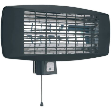 Sealey IWMH2003 2000W Wall Mounting Infrared Quartz Heater