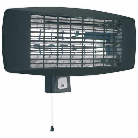 Sealey IWMH2003 Infrared Quartz Heater - Wall Mounting 2000W/230V