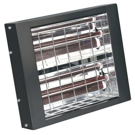 Sealey IWMH3000 3000W Infrared Quartz Heater - Wall Mounting 230V