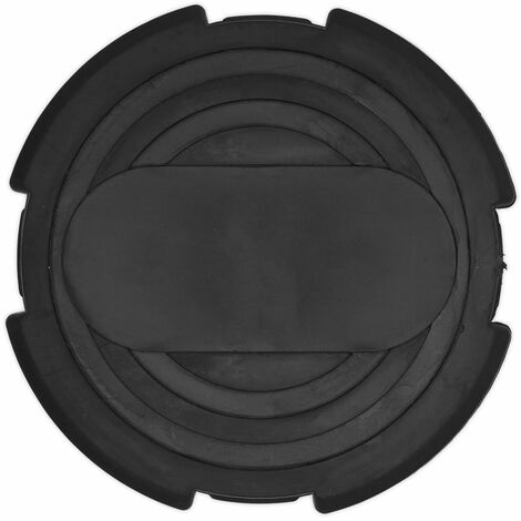 Sealey JP09 Safety Rubber Jack Pad - Type B