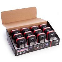 Sealey LED012DB Magnetic Work Light 24+4 Led Display (Box Of 12)