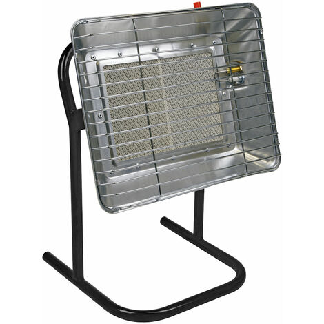 Sealey LP14 Space Warmer® Propane Heater with Stand 10,250-15,354Btu/hr
