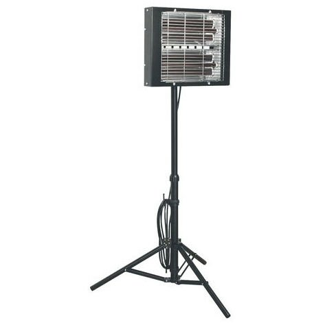 Sealey LP3000 3000W Infrared Quartz Heater -Tripod Mounted