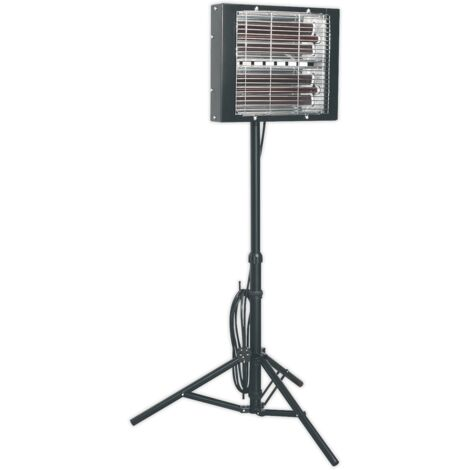 Sealey LP3000 Infrared Quartz Heater - Tripod Mounted 3000W/230V